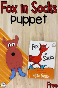 Creating this book-inspired Fox Puppet is a fun way for preschoolers to learn shapes, practice cutting, and much more!