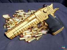 gold deagle.
