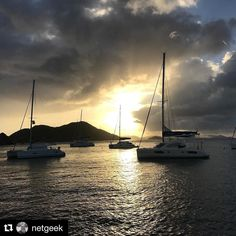 #Repost @netgeek  Moored at Cooper Island. #bvi #conchcharters #sailing
