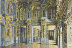 The Chapel of the Catherine Palace at Tsarskoe Selo - Alexander Nikolaevich Benois