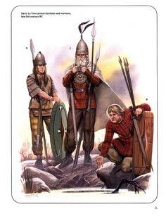 Angus Mc Bride - Guerreros celtas
