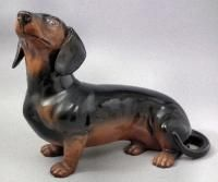 A Beswick pottery figure of a Dachshund, 10.5 inches in height