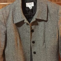 Talbots career jacket size 10p.  Perfect condition Great looking suit jacket for work. Talbots Jackets & Coats Blazers