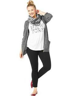 Women's Plus Size Clothes: Featured Outfits Outfits We Love   Old Navy THIS WHOLE OUTFIT!!!