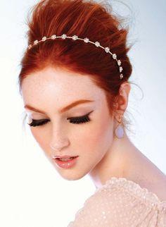 wedding makeup redhead - Google Search