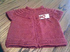 Ravelry: Baby Vest Garter Ridges pattern by Suzetta Williams