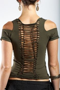 Sekushi top~shoulder hoopable. pretty sure I can make that...