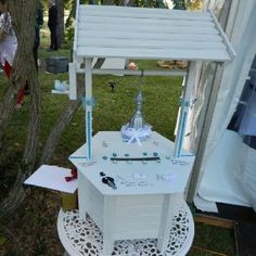 My D I Y Wedding Having A Wishing Well For Your Gift Cause You Have Everything