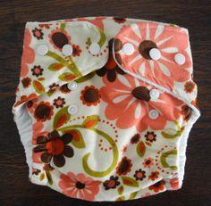 Newborn Cloth Diaper Cover Pattern