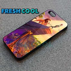 Lion King Disney Design - iPhone 4/4s/5 Case - Samsung Galaxy S2/S3/S4 Case - Black or White by FreshCool on Etsy