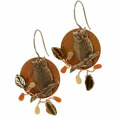 Give a Hoot Earrings | Fusion Beads Inspiration Gallery