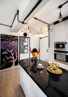 5 Things This Industrial-Chic HDB Flat Does Differently | Home & Decor Singapore