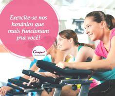Quer se exercitar mas não tem tempo durante o dia? A bicicleta ergométrica é ideal para fazer seus treinos em locais fechados, seja na academia ou até mesmo em casa! Aproveite o tempo livre para se mexer! #dicaCampesí
