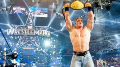 Don't miss the biggest event in sports-entertainment history! Tune in for The Show of Shows April at CT on PPV or WWE Network. Wwe Wrestlemania 30, Page Wwe, Cena Wwe, World Heavyweight Championship, Wwe Tna, Wwe World, John Cena, Professional Wrestling, Wwe Wrestlers