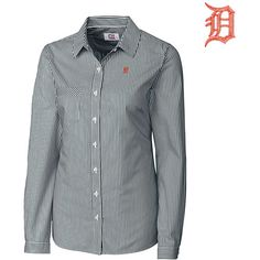 Detroit Tigers Women's Epic Easy Care Mini Bengal by Cutter & Buck - MLB.com Shop