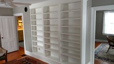 A built in bookcase we built. Built In Bookcase, Shelves, Building, Projects, Home Decor, Log Projects, Shelving, Blue Prints, Decoration Home