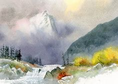 David Bellamy – Demonstrating watercolours at Patchings Art Festival | Bellamy's Bivouac
