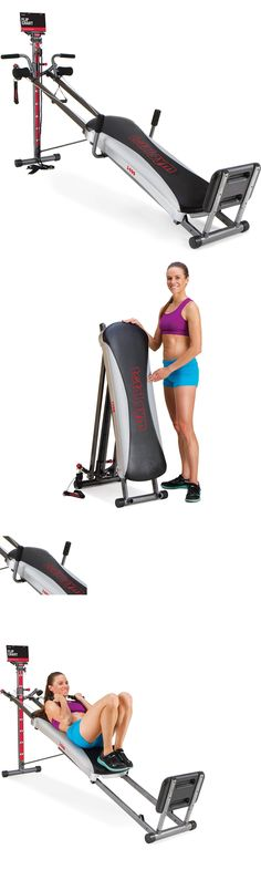 Home Gyms 158923: Home Exercise Total Gym 1400 Deluxe Fitness Machine Equipment Workout Dvd Fold -> BUY IT NOW ONLY: $298 on eBay!