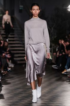 Scandinavian Fashion Weeks AW18: Greatest Hits  FILIPPA K This year was Filippa K's 25th anniversary and they decided to go big, in the most minimalist way possible. Doing what they do best, the brand yet again made the case for tasteful, sleek minimalism.