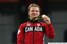 Erica Elizabeth Wiebe, Kanada vann damernas guld i brottning 75 kg fristil, silver Guzel  Manyurova, Kazakstan, brons Fengliu Zhang, Kina och Ekaterina Bukina, Ryssland.