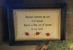 Primitive Flower Stitchery Heaven ~ Home  from Primitives by Kathy