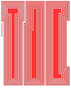 Paula Scher // 2011 Type Directors Club posters