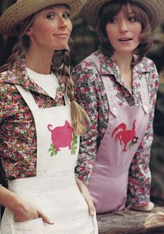 70s overalls! // Needle & Craft, Spring/Summer 1971