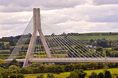 Suspension Bridge Ireland | Suspension Bridge Drogheda, Co Louth, Ireland