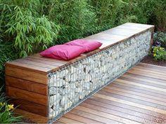 Gabion Wall Expert - Gabion Garden Features Image Gallery
