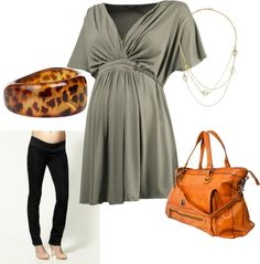 """Maternity Work IV"" by pregnantchicken on Polyvore #Maternity"