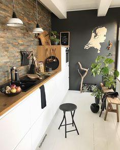 - Best ideas for decoration and makeup - My Kitchen Rules, Loft Kitchen, Home Decor Kitchen, Kitchen Interior, Kitchen Dining, Küchen Design, House Design, Room Partition Designs, Cocinas Kitchen