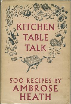The happy table Old Recipes, Vintage Recipes, Cookbook Recipes, Vintage Book Covers, Vintage Books, Book And Magazine, Magazine Art, Vintage Cooking, Vintage Kitchen