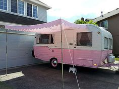 1956 Kencraft 17' Vintage Camp Trailer fully restored and ready for Glamping.