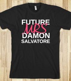 future mrs damon salvatore - the vampire diaries