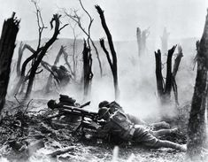 American Soldiers on the Western Front, 1918