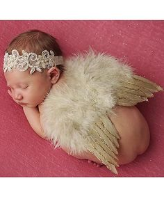 Headband & Feather Wings
