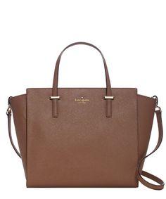Cedar Street Hayden ginger leather bag Sale - KATE SPADE Sale