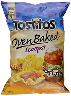 Oven Baked Tostitos Tortilla Chips (in moderation)