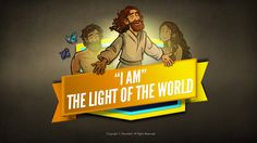 John 8 Light Of The World Kids Bible Scripture: The inspirational Light of the World kids Bible story (John John 8:12-30). Part two of the Sharefaith Kids I AM lesson series, the light of the world kids Bible story centers on the incredible hope Jesus provides to a world lost in spiritual darkness. Jesus, the light of the world, shines in the darkness and the darkness cannot overcome him! This kids Bible lesson is packed full of resources like Q&A, memory verse, and more.