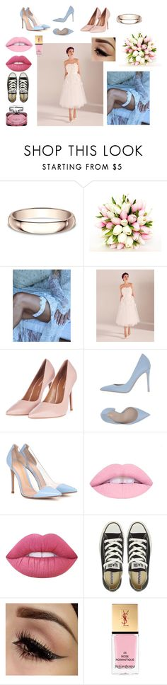 """""""This special day set"""" by sweetlittlebunny on Polyvore featuring moda, Modern Bride, Ted Baker, Topshop, Le Silla, Gianvito Rossi, Lime Crime, Converse, Yves Saint Laurent i Gucci"""