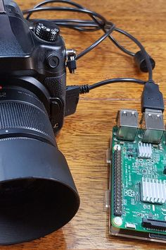 your DSLR using the Raspberry Pi Control a DSLR using your Raspberry Pi.Control a DSLR using your Raspberry Pi. Raspberry Pi Computer, Raspberry Pi Camera, Projets Raspberry Pi, Raspberry Projects, Rasberry Pi, Dslr Photography Tips, Classy Photography, Robotics Projects, Electronics Projects
