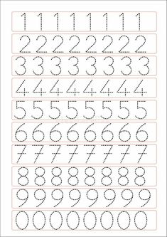 Trace the Dotted Lines Worksheets for Kids - Preschool and Kindergarten Tracing Worksheets, Printable Preschool Worksheets, Kindergarten Math Worksheets, Worksheets For Kids, Free Printable, Kindergarten Homework, Printable Shapes, Coloring Worksheets, Shapes Worksheets