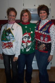 Bad Christmas sweaters, 1990s