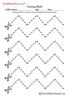 cut lines Cutting Zig Zag Lines