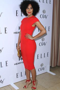 Actress Tracee Ellis Ross attends ELLE's 6th Annual Women in Television Dinner Presented by Hearts on Fire Diamonds and Olay at Sunset Tower on January 20, 2016 in West Hollywood, California. Description from pinterest.com. I searched for this on bing.com/images