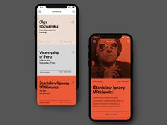 MNW- mobile designed by Milena Trefler. Connect with them on Dribbble; Mobile Ui Design, Interaktives Design, Design Food, App Ui Design, User Interface Design, Web Design Color, Portfolio Webdesign, Webdesign Layouts, Interaction Design