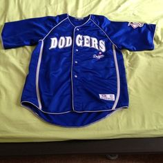 LA Dodger Jersey This was given to me. It's 100% Polyester. I never once wore it. True Fan Other