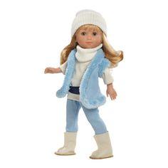 Muñeca Apre Ski Miyo Lovely azul Skiing, Winter Hats, Dolls, Spain, Toy Store, Blue, Playmobil, Ski, Baby Dolls