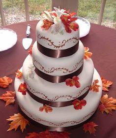 Beautiful Bridal: Fall Wedding Cake Ideas