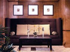 Geometric Sofa - Stylish Oversized Sofas on HGTV